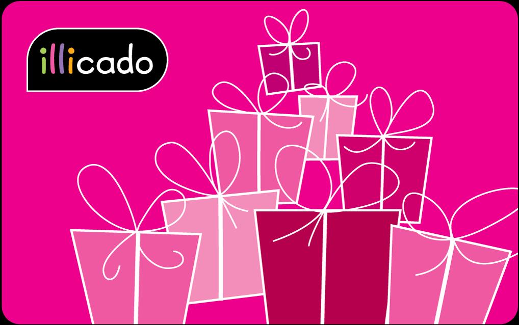cadeau mariage pas cher achat cartes cadeaux illicado. Black Bedroom Furniture Sets. Home Design Ideas